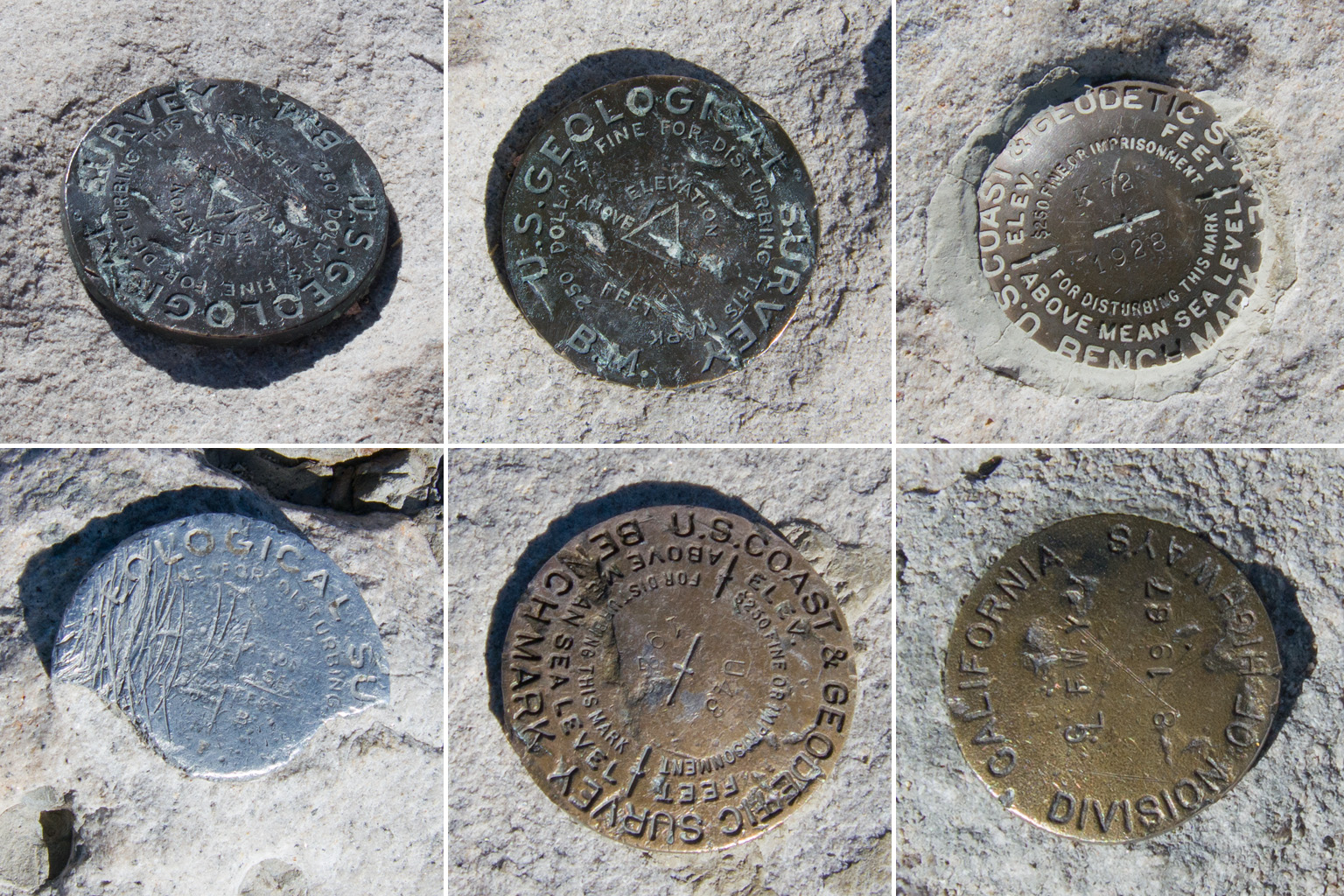 Mt. Whitney markers