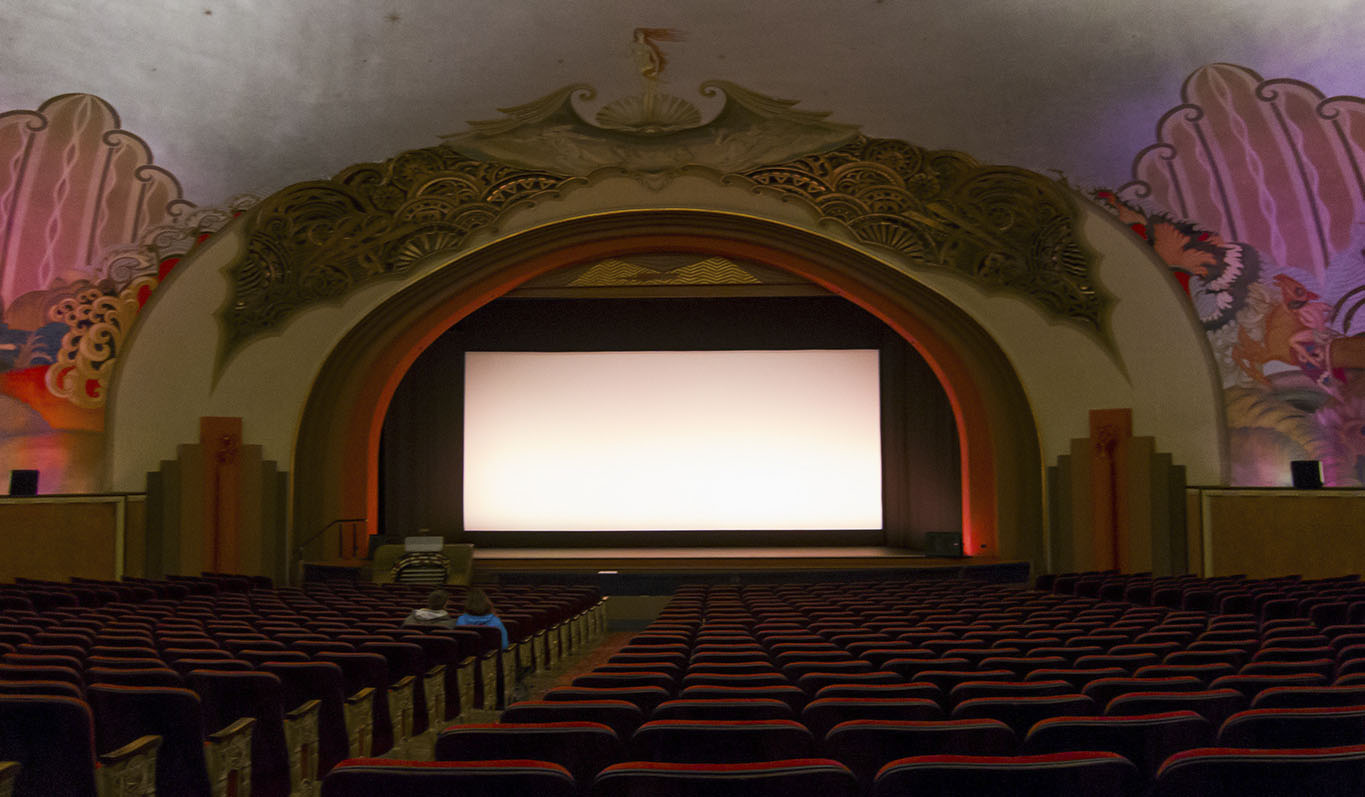 The Avalon cinema in the old casino building