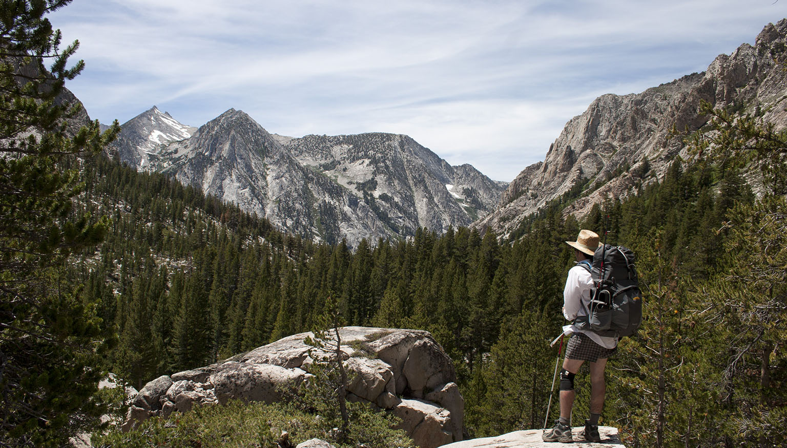 Overlooking Bubbs Canyon
