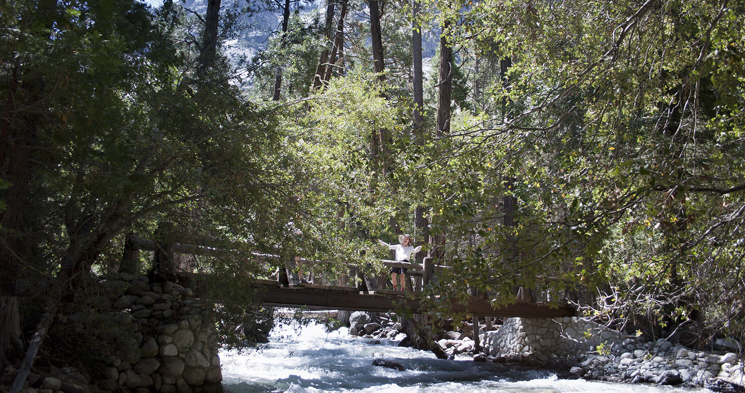 Bridge near Road's End.
