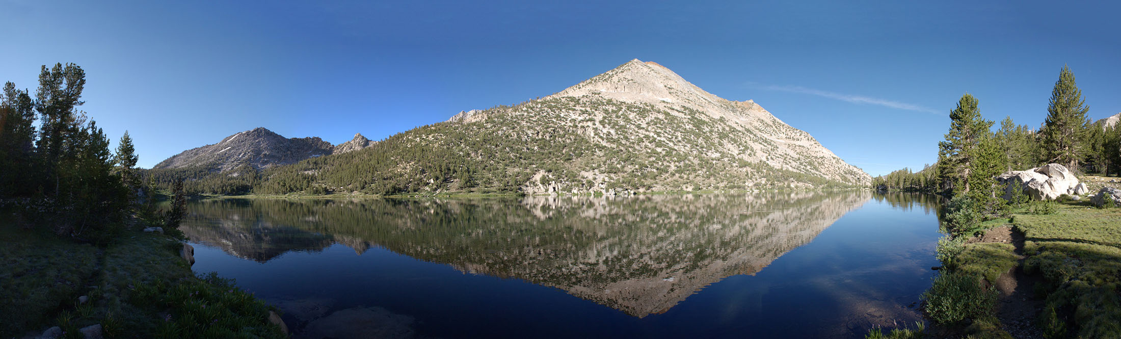 Charlotte Lake and Mt. Bago