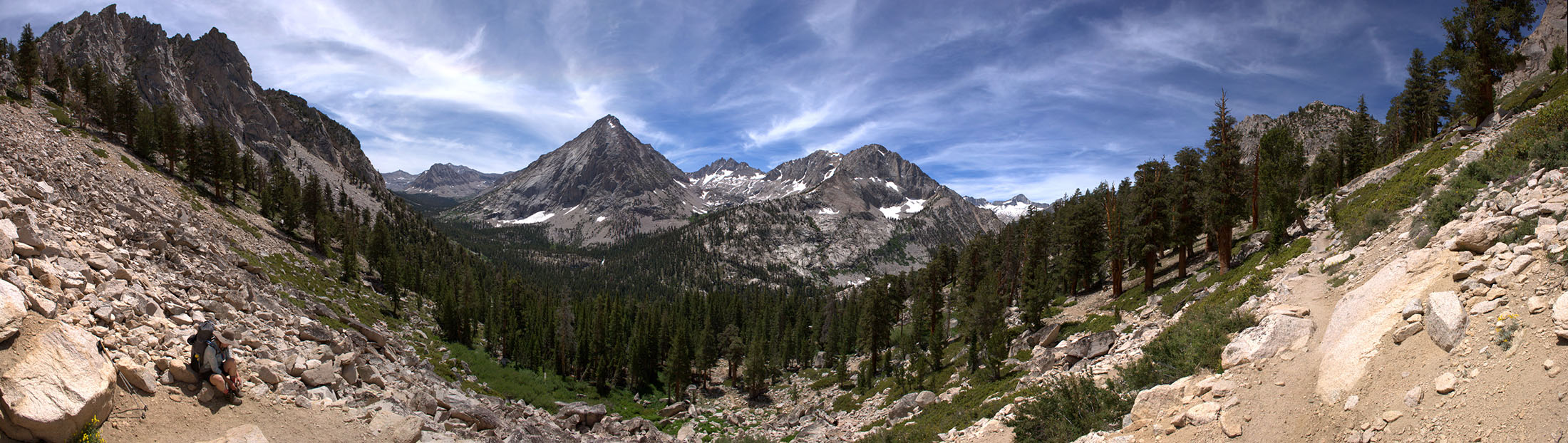 Above Vidette Meadows