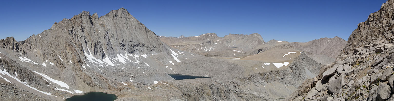 The Williamson Bowl with Mt. Tyndall on the left