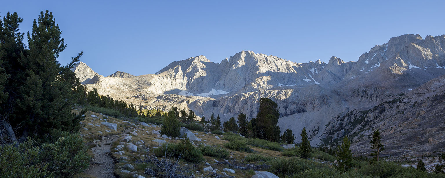 The PCT and the Kings Kern Divide